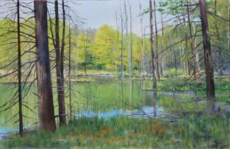 Artwork By Loren Howard Landscape Art Lake Sunapee Living
