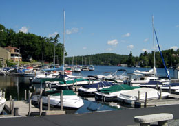 Lake Sunapee Harbor Restaurants